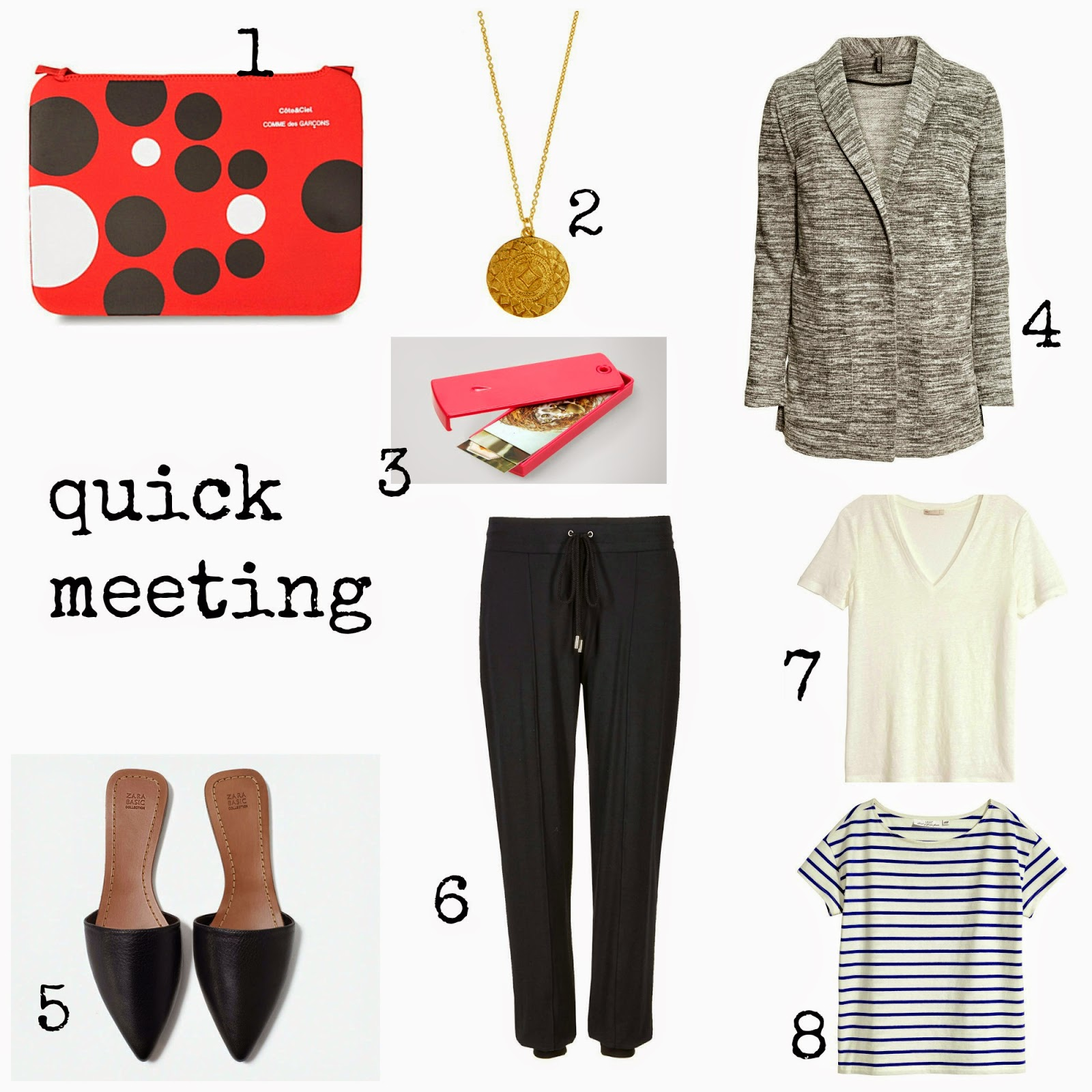 mamasVIB | V. I. BABYMAMAS: Working from home - 5 Stylish looks that mean Business | working from home clothes |  z for accessorise | monsoon | z | jewellery  coin pendent | moo | oo business cards | H&M | classic tees  jersey blazer | zara | best of british at marsk and spencer | M&s | Boden | topshop slides | gold sandals | t-shirt dresses | toast | gap | boden shoes | espadrilles | silver pumps | the white company | the white company collective | mug  keith brymer jones | freelance mug | chinti and parker | birkenstocks | H&M | specsavers | geek glasses | tracksuit | sweat shirt | stripe tee  breton top | hello t-shirt| freelance clothes | causal clothes | working from home | desk | stylish looks for work | marks and spcner | anthropoloigie | scunci | headband | cool looks | river island | to do notepad | mamasVIb | stylist | fashion editor | baby mamas | dress like a mu | comfy clothes | style | fashion | blogger | dressing for work | j crew | asos | kate spade | selfridges | topshop
