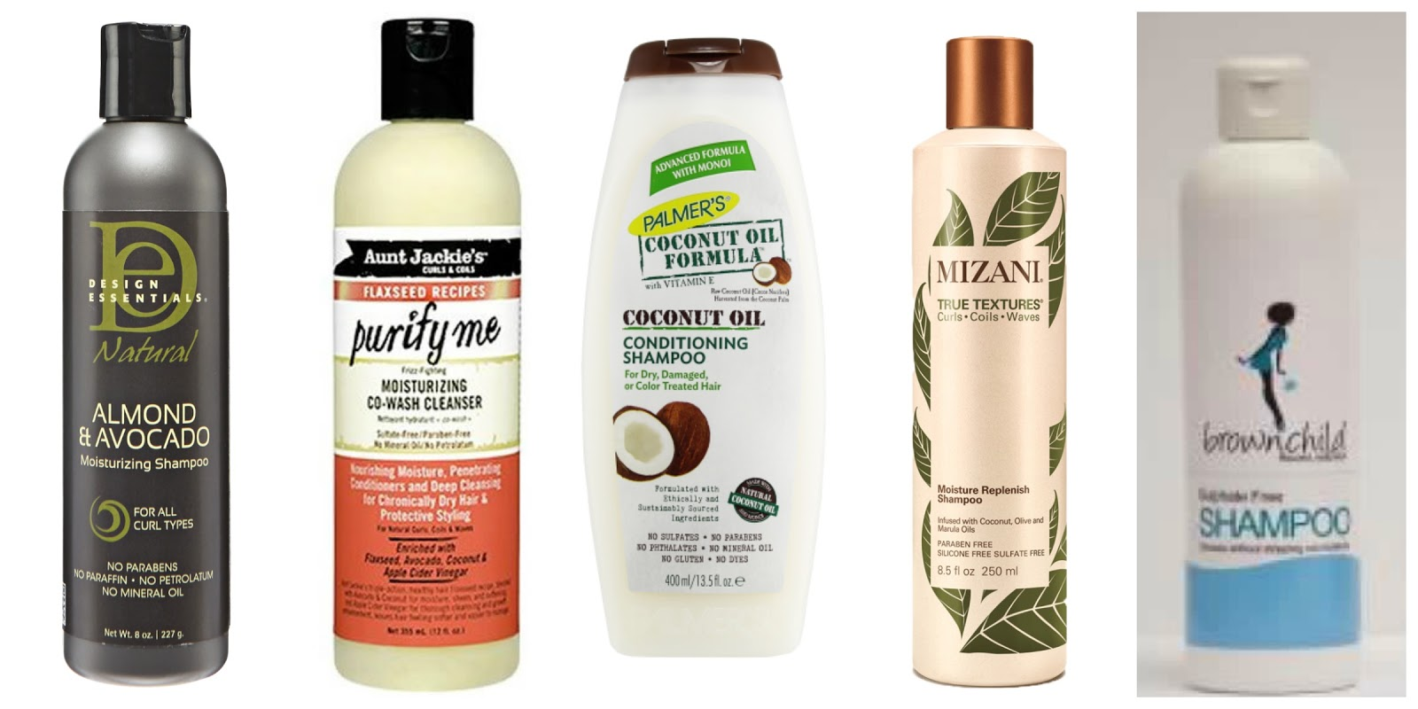 5 Great Shampoos For Natural Hair Mzansifro