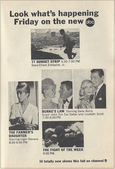 It's About TV: This week in TV Guide: September 28, 1963