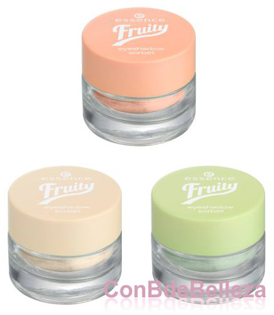 Sombras Fruity