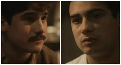 Alfredo (Nicolas Prattes) e Carlos (Danilo Mesquita)