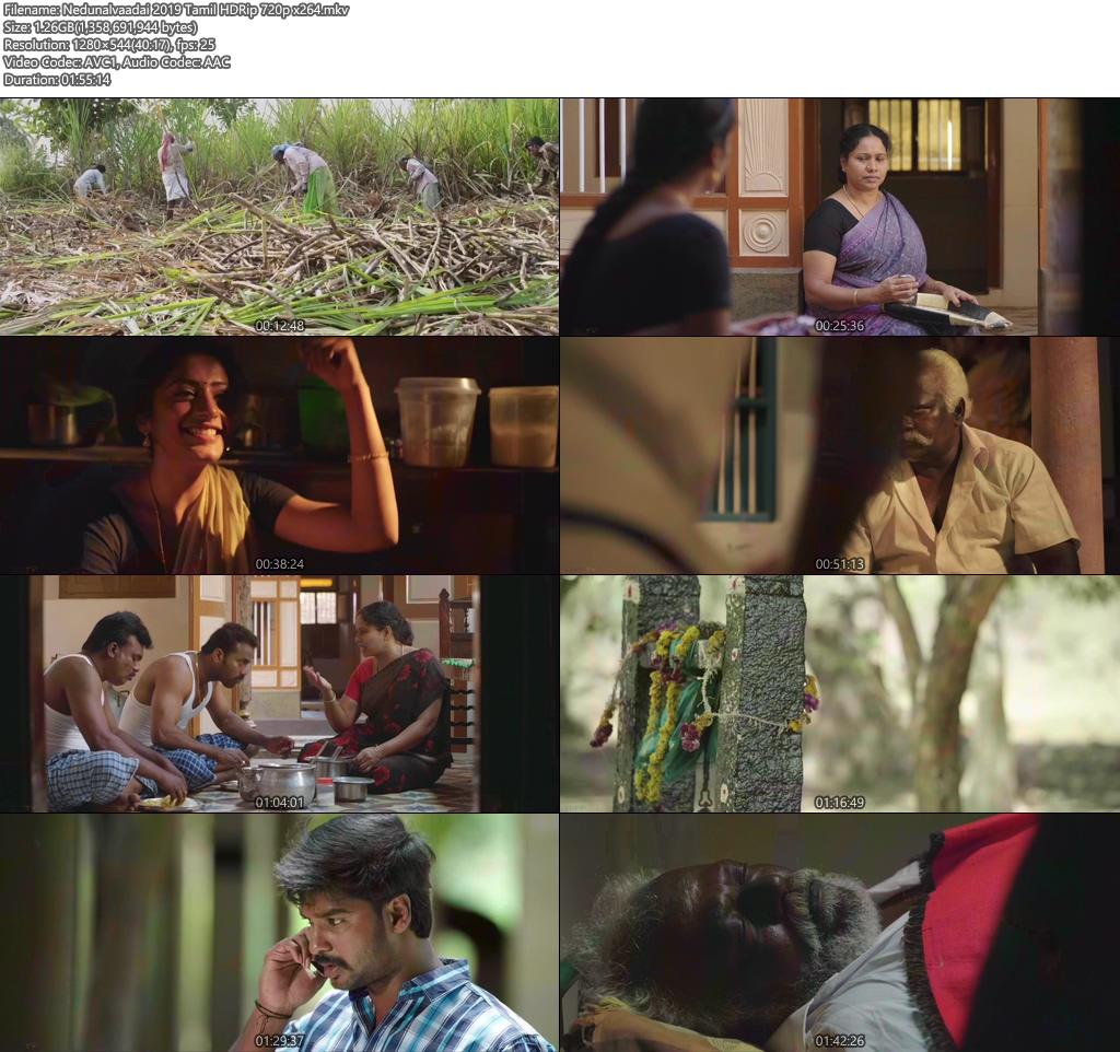 Nedunalvaadai 2019 Tamil HDRip 720p x264 | 480p 300MB | 100MB HEVC Screenshot