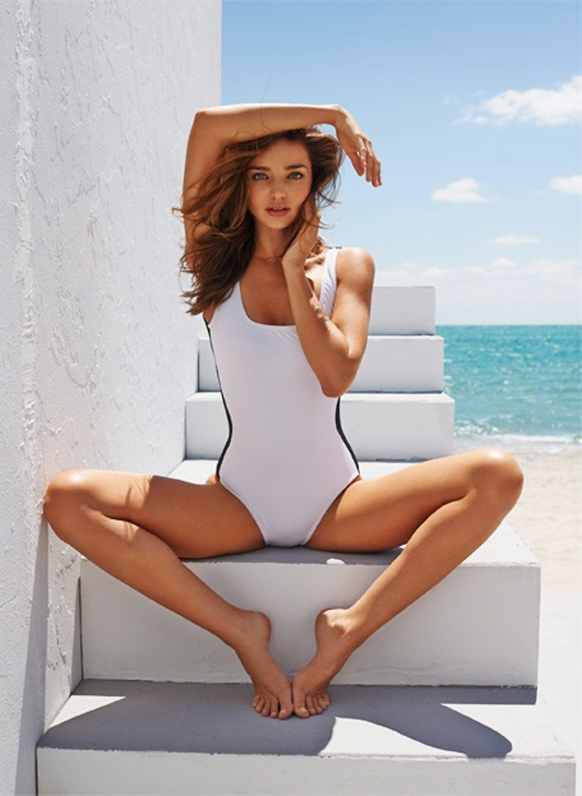5 Top Models Discuss Body Insecurity & Bullying - Miranda Kerr