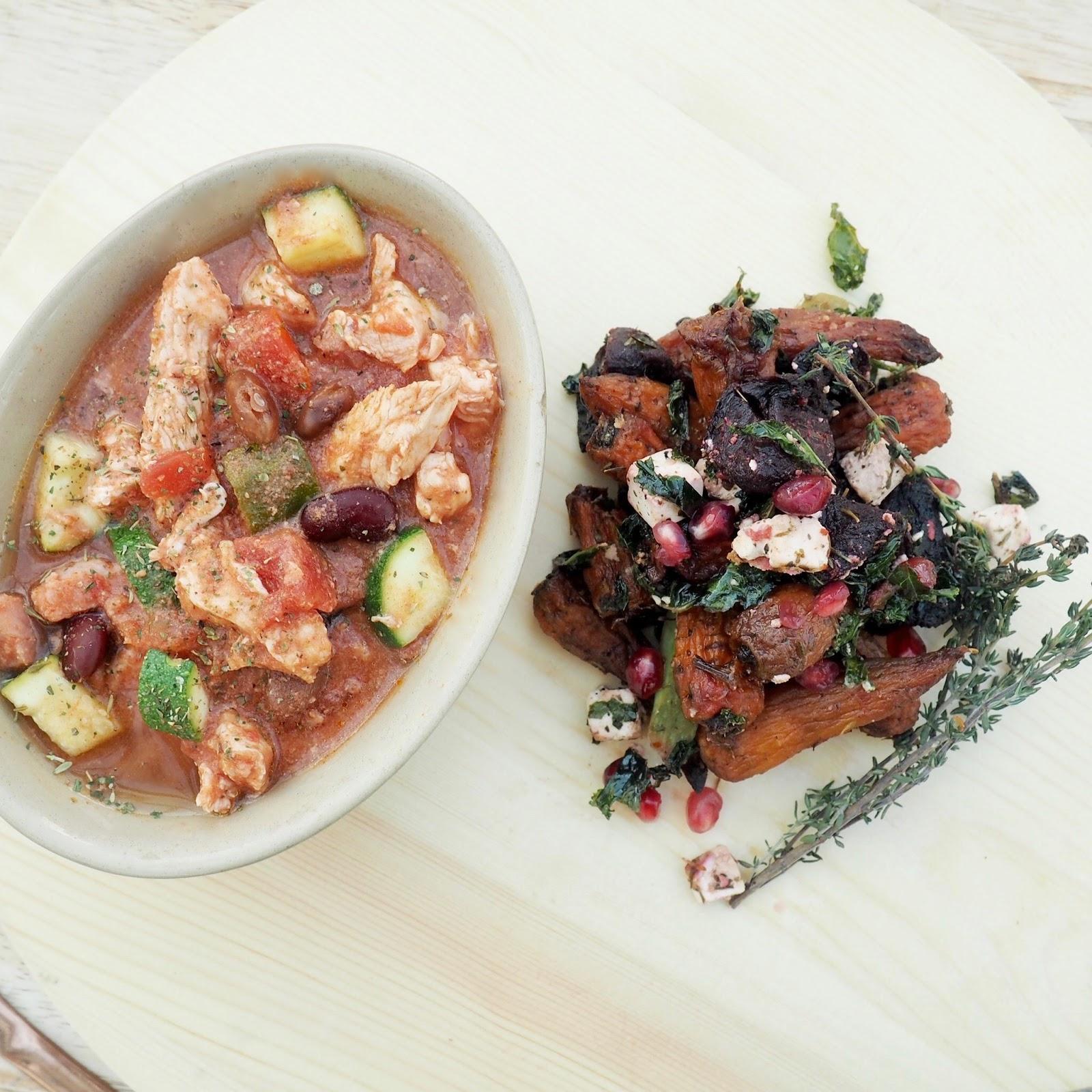 chicken and bean chilli