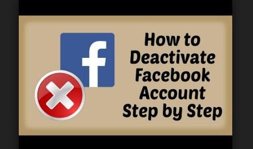 Deactivate Facebook Steps