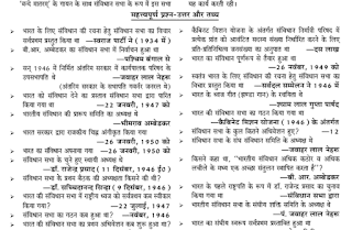 Indian Polity - Last Year Questions in Various SSC Exam