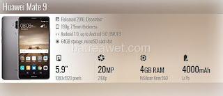 13. Huawei Mate 9