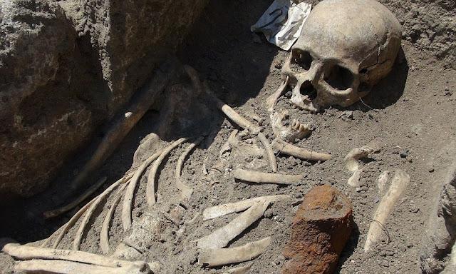 makan vampire di temukan di Sozopol  Bulgaria