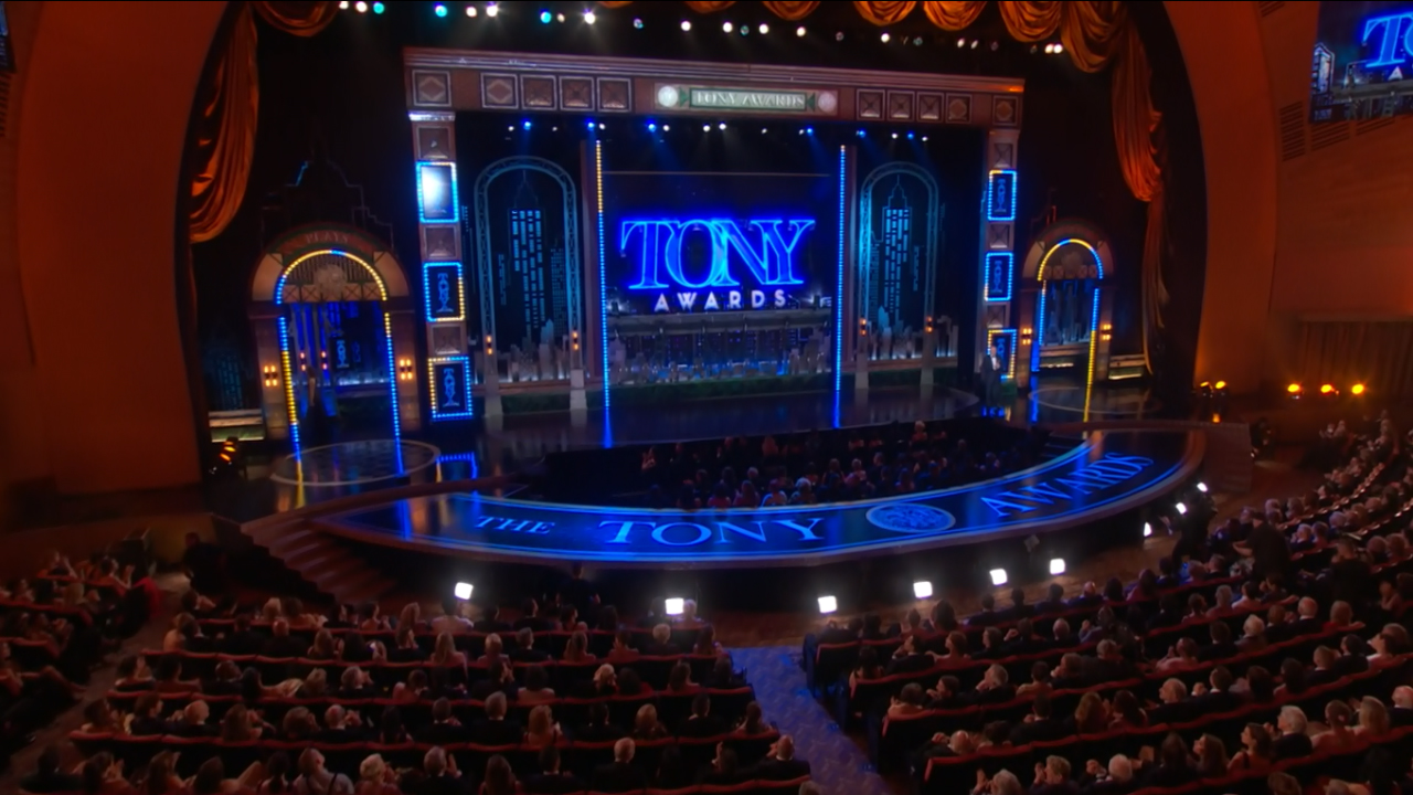 what channel is the tony awards on