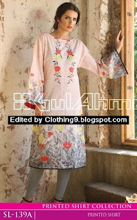 Gul Ahmed Digital Shirts Catalog