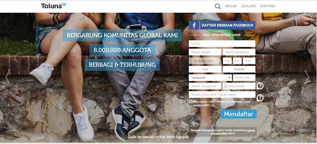 Toluna Indonesia - Situs Survey Terbaik dan Membayar (Hot)