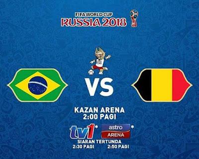 BRAZIL VS BELGIUM LIVE STREAM