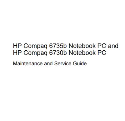 HP Compaq 6730b Service Manual