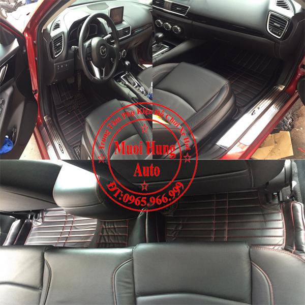 Thảm Lót Sàn Ô Tô 4D Mazda3 01