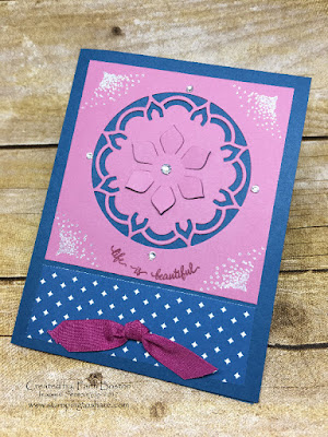Stampin' Up! Eastern Beauty Bundle Pre Order Swap by Faith Boston for Stamping to Share.