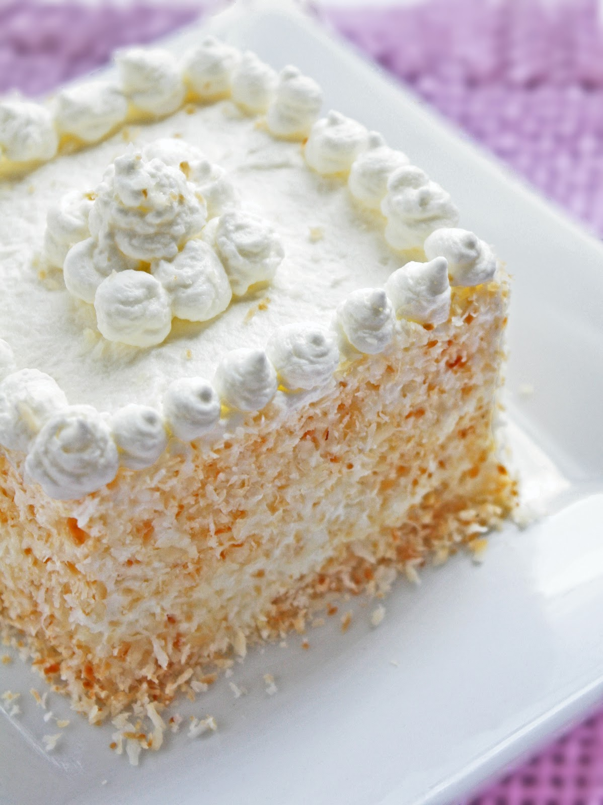 Image result for Atkins Coconut Layer Cake