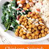 CHICKPEA, SPINACH & SWEET POTATO BROWN RICE BOWL RECIPE