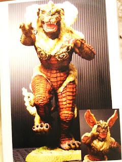 "8"" King Caesar resin cast kit by DAIMOS (Godzilla Final Wars)"