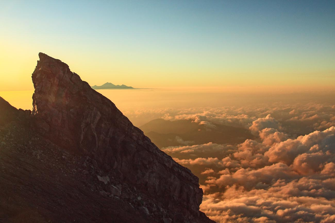 Sunrise from Mount Agung, Bali
