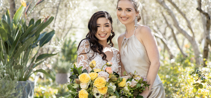Geometric Wedding Ideas in Irvine California