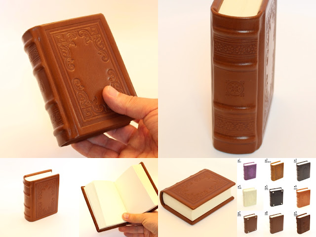 Littel Buddy - leather book/journal/diary