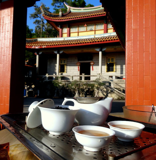Tea Tushita Nanputuo Temple