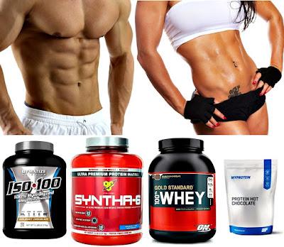 Batidos de proteínas en polvo para hombres y mujeres para quemar grasa