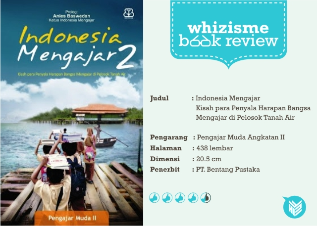 [DESIGN AND CREATIVITY] Review Buku Indonesia Mengajar 2