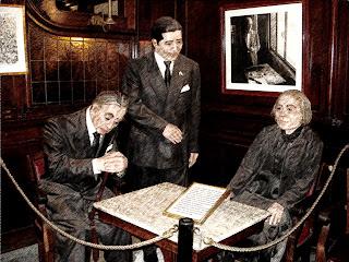 Os Ilustres Frequentadores do Café Tortoni