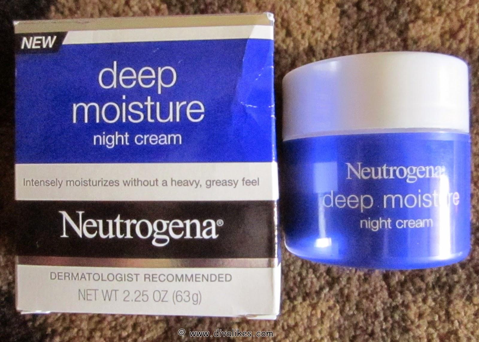 8cd0bf212bea Neutrogena Deep Moisture Night Cream Review