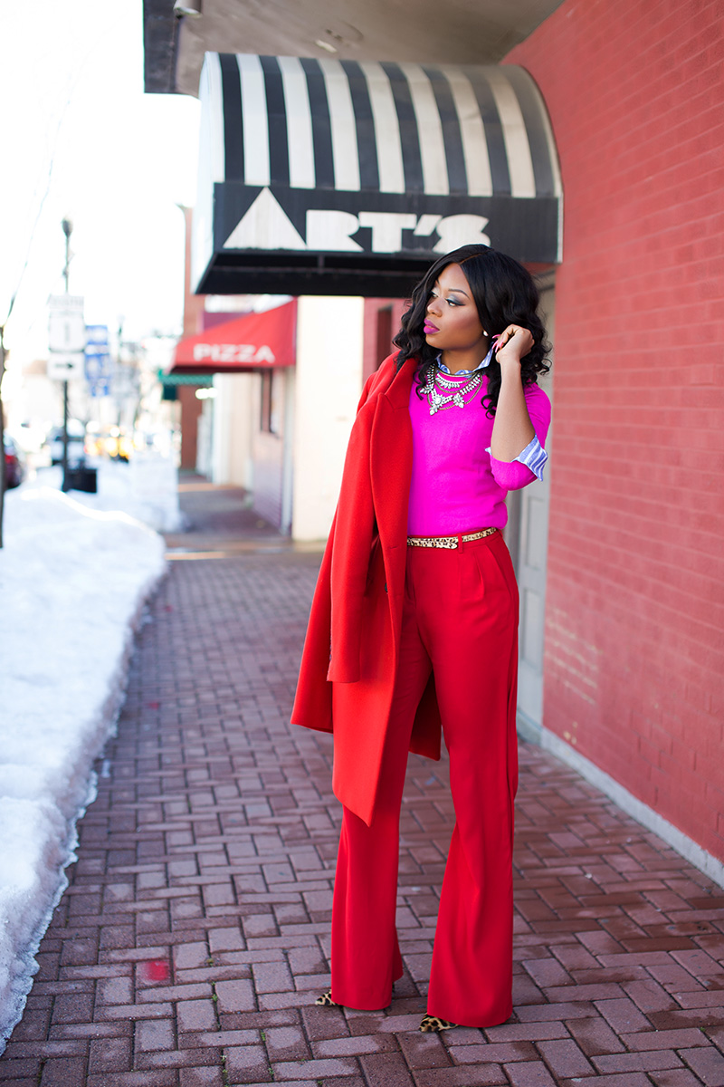 mixing red and pink for valentines day, www.jadore-fashion.com