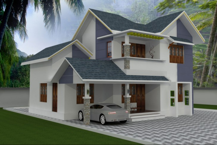 Home plans kerala low cost home design and style for Kerala home designs low cost