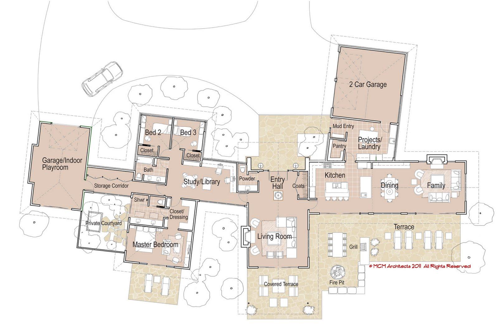 MCM DESIGN: Modern House Plan 1