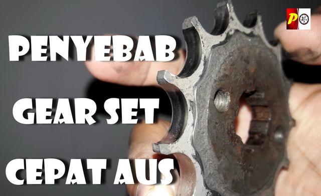 Penyebab Gear dan Rantai Motor Cepat Aus