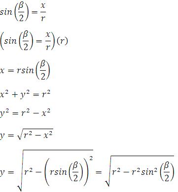 Altura-y-base-de-un-subtriángulo-de-un-polígono-regular-inscrito