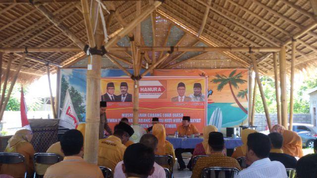 DPC Partai Hanura Lotim Lakukan Muscalub