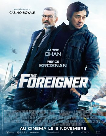 The Foreigner (2017) Dual Audio 300MB