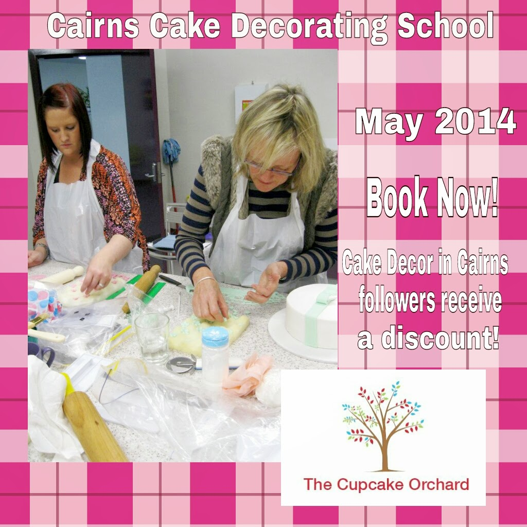 Cairns Cake Decorating School cheap lessons discount voucher