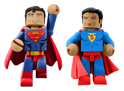 San Diego Comic-Con 2018 Exclusive DC Comics Superman 80th Anniversary Vinimates Vinyl Figures Box Set by Diamond Select Toys x PREVIEWS