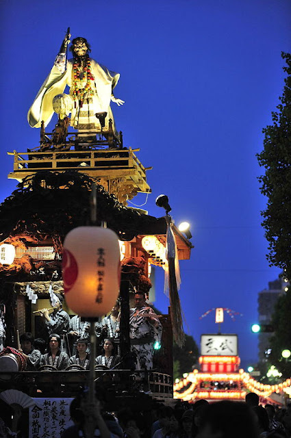 Kiryu Yagibushi Matsuri (yagibushi folk songs & parade), Kiryu City, Gunma Pref.