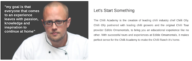 Chilli Olly at the Chilli Academy, Bedford