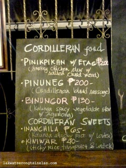 Caf 201 Yagam The Traditional Cordilleran Shop