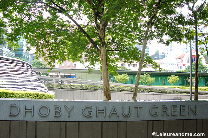 Dhoby Ghaut Green Singapore