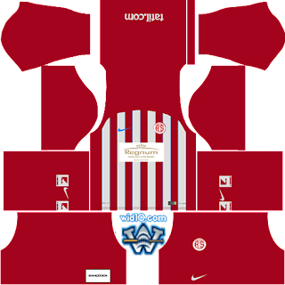 Antalyaspor  Dream League Soccer 2018 2019 dls 18 fts forma kits logo url