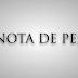 Nota de Pesar pelo falecimento da Senhora Izailde Oliveira de Cerqueira