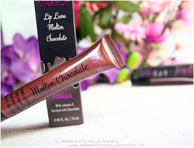 fondue recensione rossetto liquido lip lava molten chocolate liquid lipstick