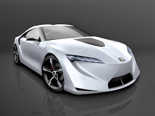 Gambar Mobil Toyota FT HS Concept