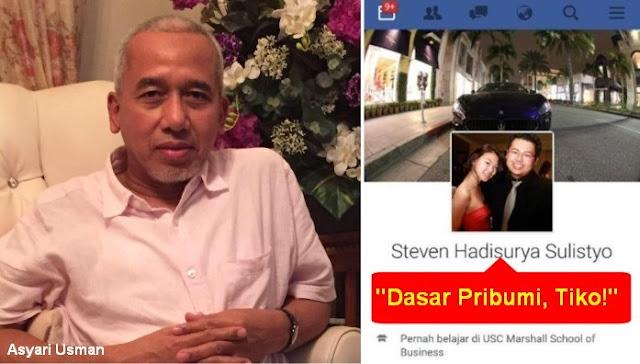"""""""Tiko"""" Perkuat Bom Waktu Kesenjangan Pribumi vs Tionghoa"""