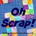 http://quiltingismorefunthanhousework.blogspot.de/2015/10/oh-scrap-brown.html