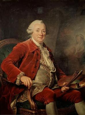 Charles-Amédée-Philippe van Loo by Adélaïde Labille-Guiard, 1785